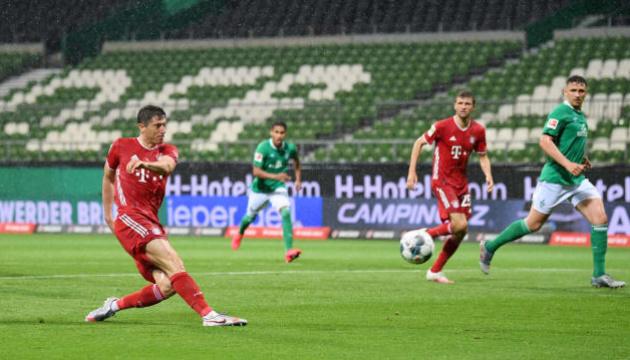 «Бавария» обыграла «Вердер» и стала чемпионом Германии