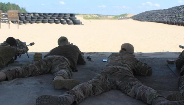 На Черниговщине проходят соревнования снайперов