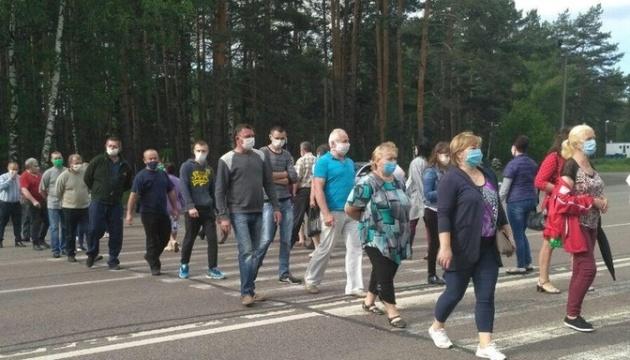Волиняни перекривали міжнародну трасу - протестували проти укрупнення районів