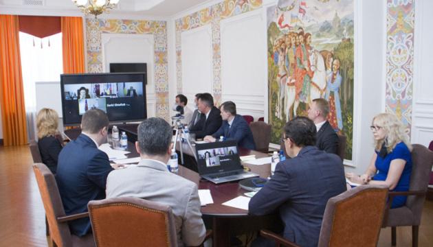 МИД Украины и Азербайджана будут готовить визит Алиева в Киев