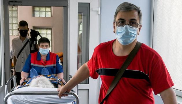 Na Ukrainie zarejestrowano 1197 nowych przypadków COVID-19
