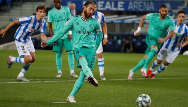 Ла Ліга: «Реал» обіграв «Реал Сосьєдад» і став лідером