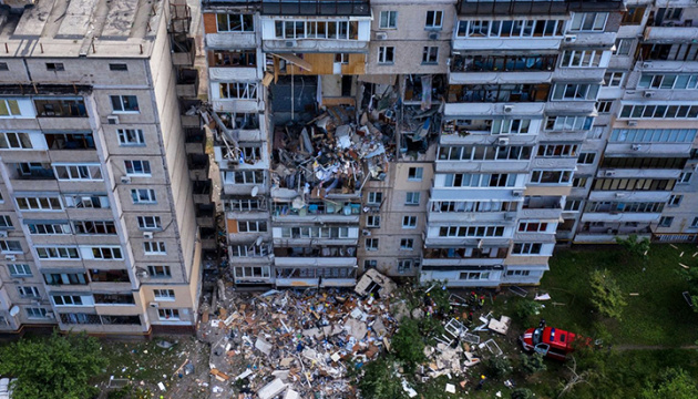 Tragedy in Kyiv: three people killed in explosion at apartment building