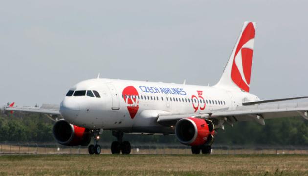 Czech Airlines возобновила регулярные перелеты из Праги в Киев