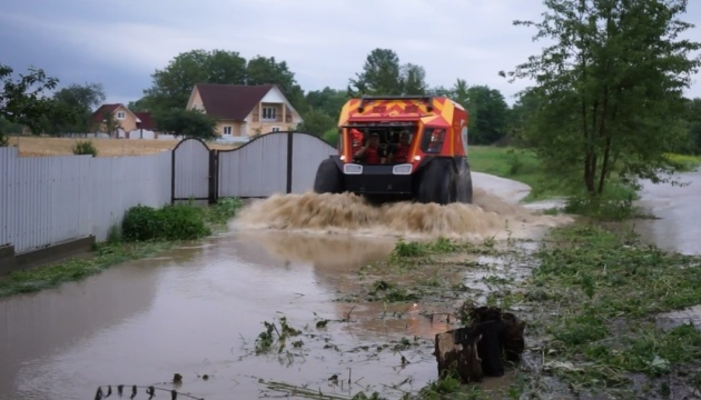 Floods in western Ukraine: 550 houses flooded, 83 bridges destroyed