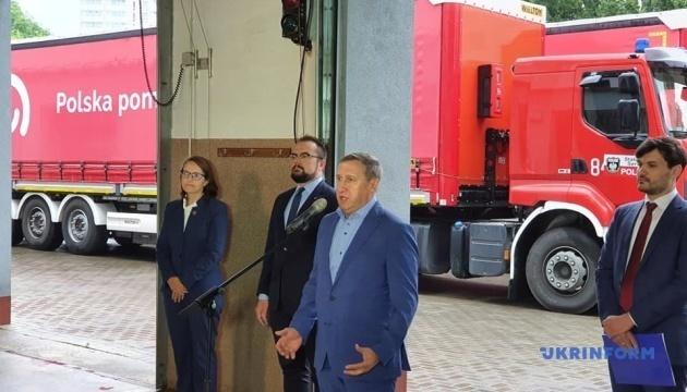 Poland sends Ukraine humanitarian assistance to combat COVID-19