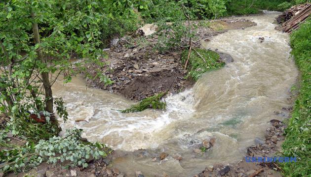 На Прикарпатті частково підтоплені  570 населених пунктів, 18 - без електрики