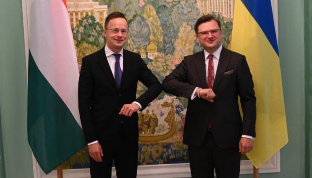 У Києві проходить зустріч глав МЗС України й Угорщини: про що говоритимуть