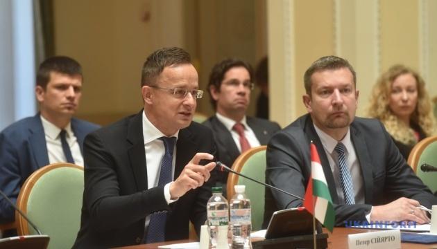 Україна і Угорщина 29 червня відкриють усі пункти пропуску – Сіярто