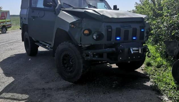 На Харьковщине колонна военных автомобилей совершила ДТП, есть пострадавшие