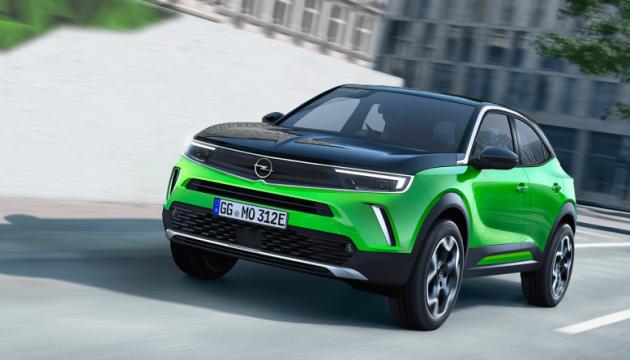 Opel представил электрический кроссовер