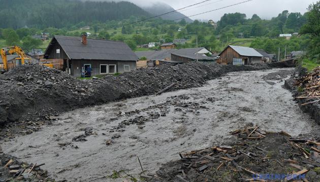 На Буковині збитки від паводків перевищують мільярд гривень