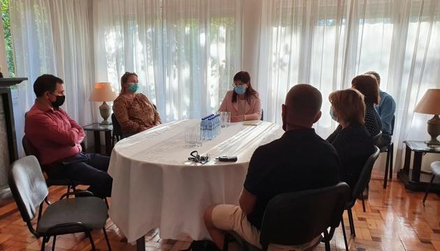 Українські дипломати та громада Португалії провели зустріч