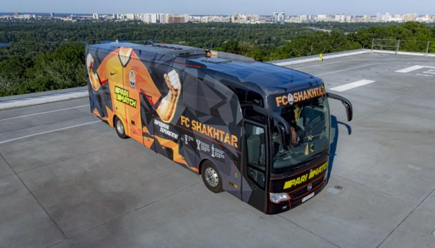 «Шахтар» презентував новий дизайн клубного автобуса
