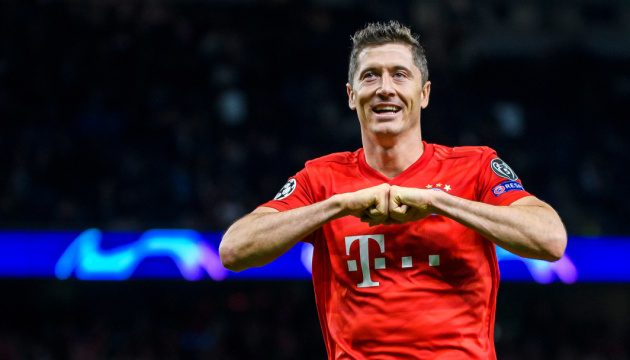Нападник «Баварії» Левандовскі – кращий гравець сезону в Бундеслізі