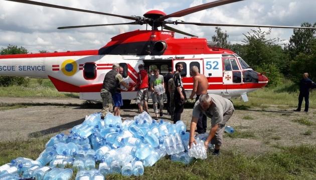 Ненастье на западе Украины: последствия ликвидируют около двух тысяч человек