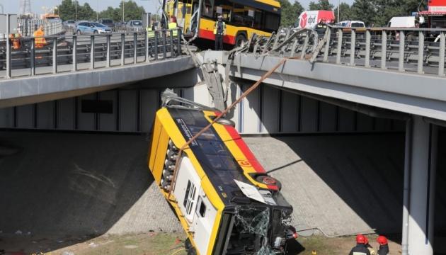 Водія розбитого у Варшаві автобуса арештували, перед рейсом він приймав амфетамін - ЗМІ