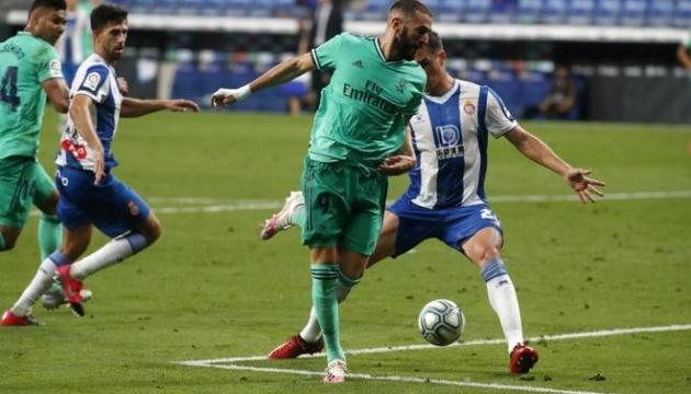 Ла Ліга: «Реал» обіграв «Еспаньйол» і став одноосібним лідером