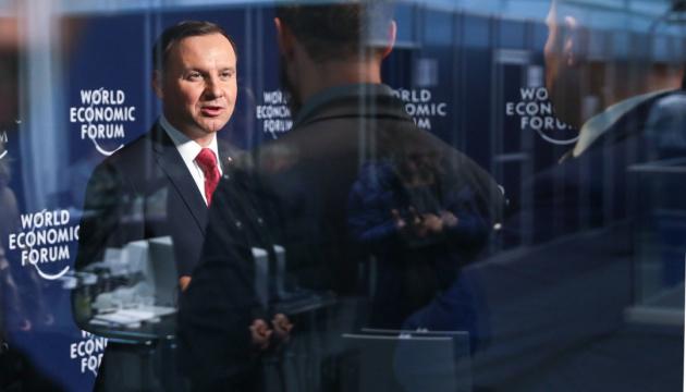 """Дуда в ООН застеріг від переходу до """"business-as-usual"""" у відносинах з РФ"""