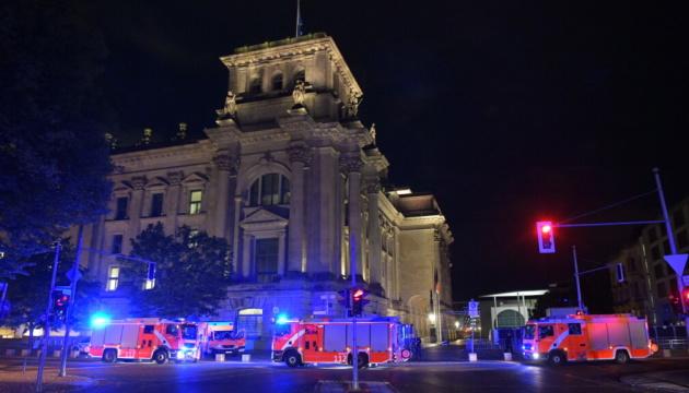 Неизвестные пытались поджечь Бундестаг