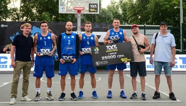 У Києві пройшов перший тур чемпіонату України з баскетболу 3х3