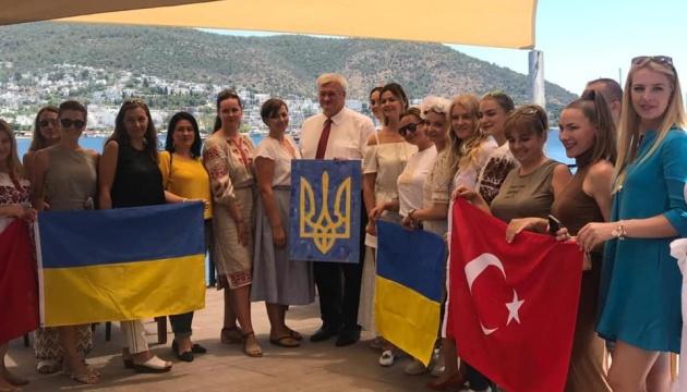 Посол України Андрій Сибіга зустрівся з українцями Бодрума