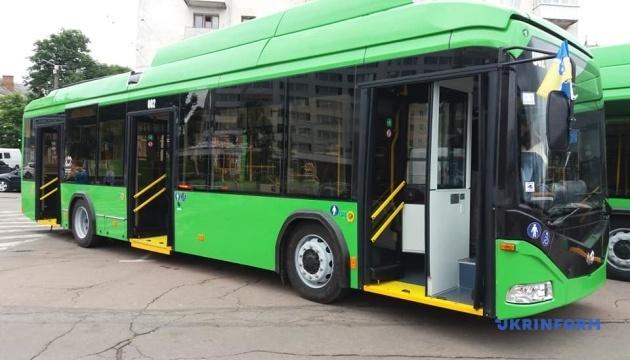 ジトーミル市にてベラルーシ製トロリーバスの運行開始