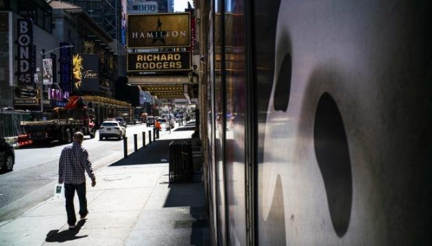 Бродвейские театры не откроются до конца года
