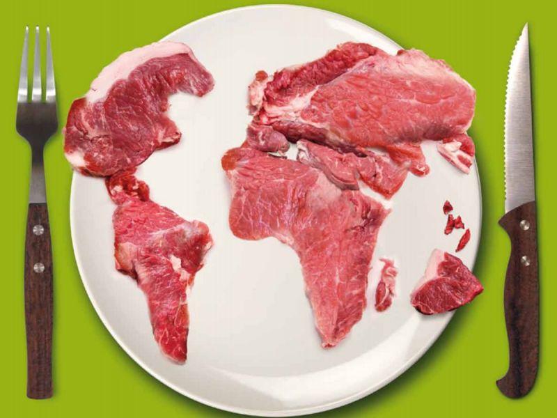 Замещение части красного мяса птичьим и рыбой улучшает экологическую ситуацию