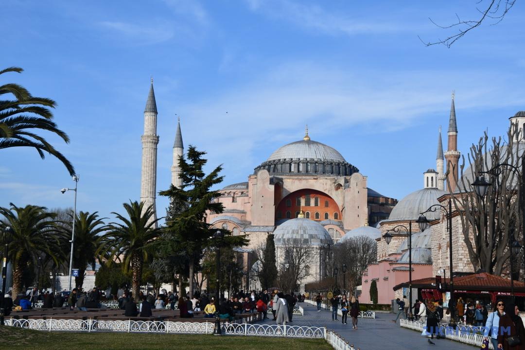 Туреччина, місто Стамбул, храм Айя-Софія