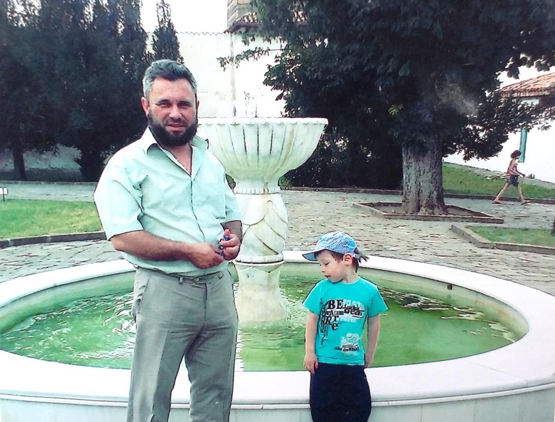 Джемаденов с сыном