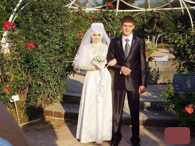 Салединов с женой Гузаль