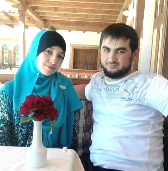 Исмаилов с женой Фатмой