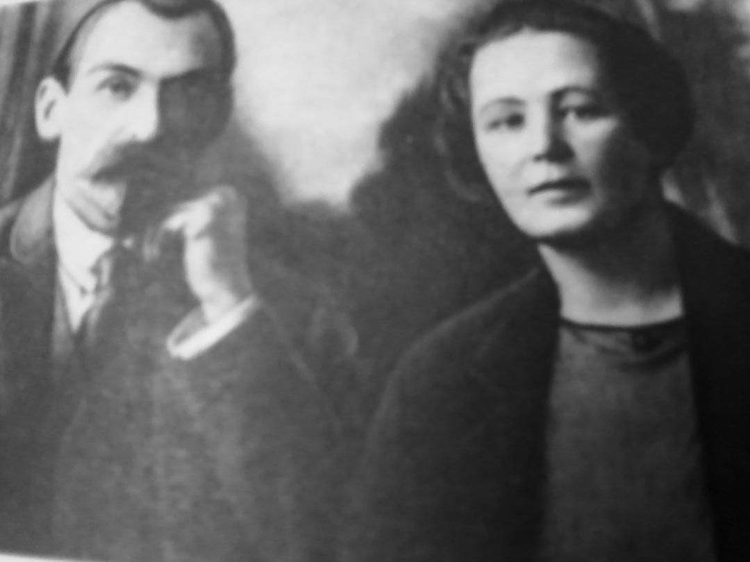 Микола Скрипник з дружиною Марією
