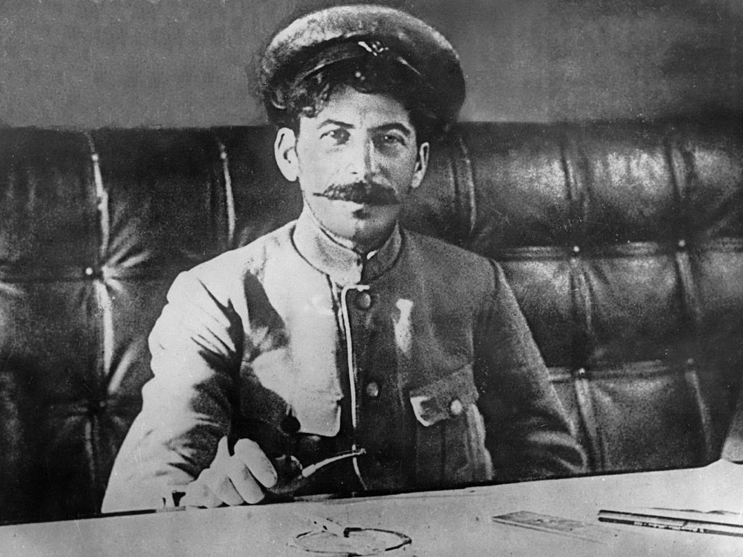 Йосип Сталін, 1918 р.