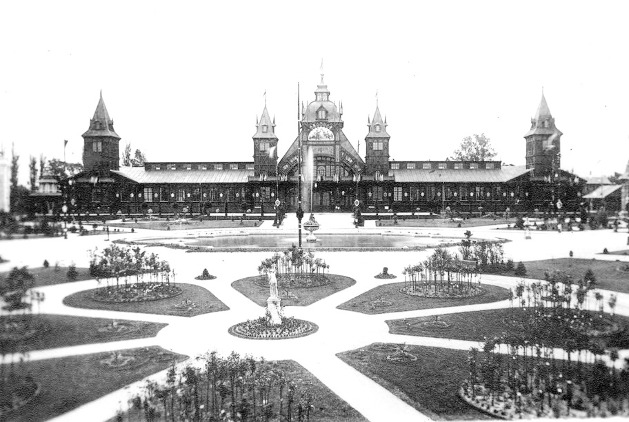 будівля Генеральної національної виставки у Львові, 1894 р. 1