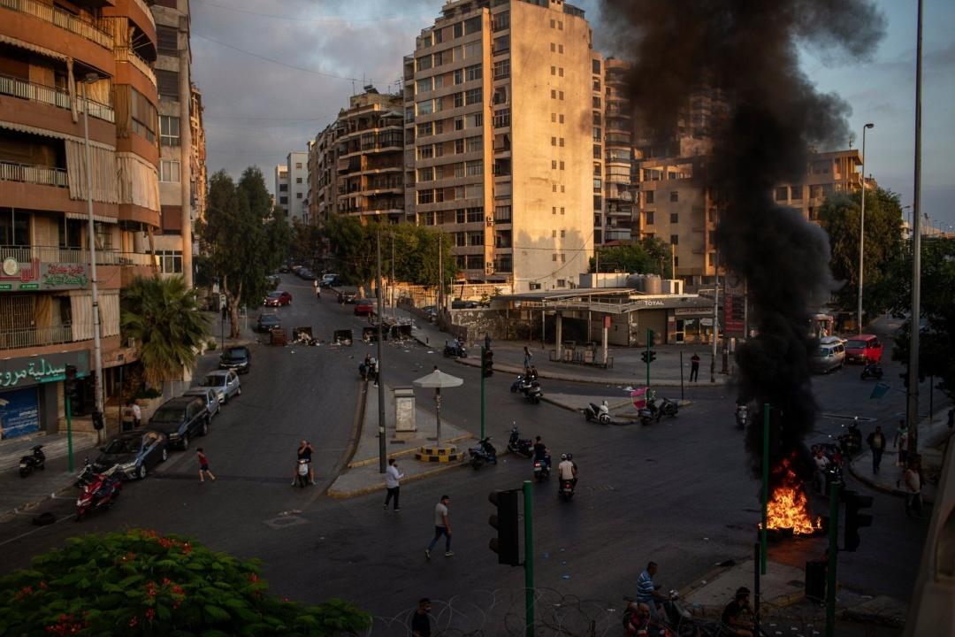 Фото – NYT – Бейрут в эти выходные