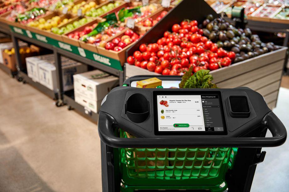 Amazon предложил «умную» тележку для покупок в магазинах