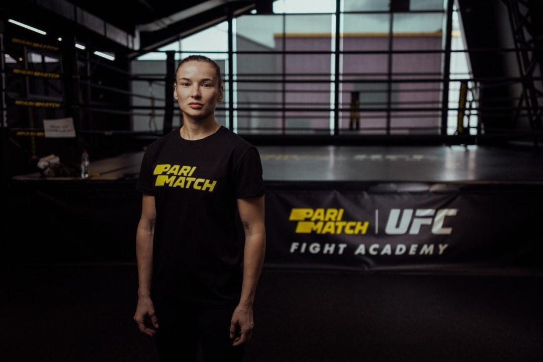 Перша українка в UFC увійшла до команди TEAM Parimatch