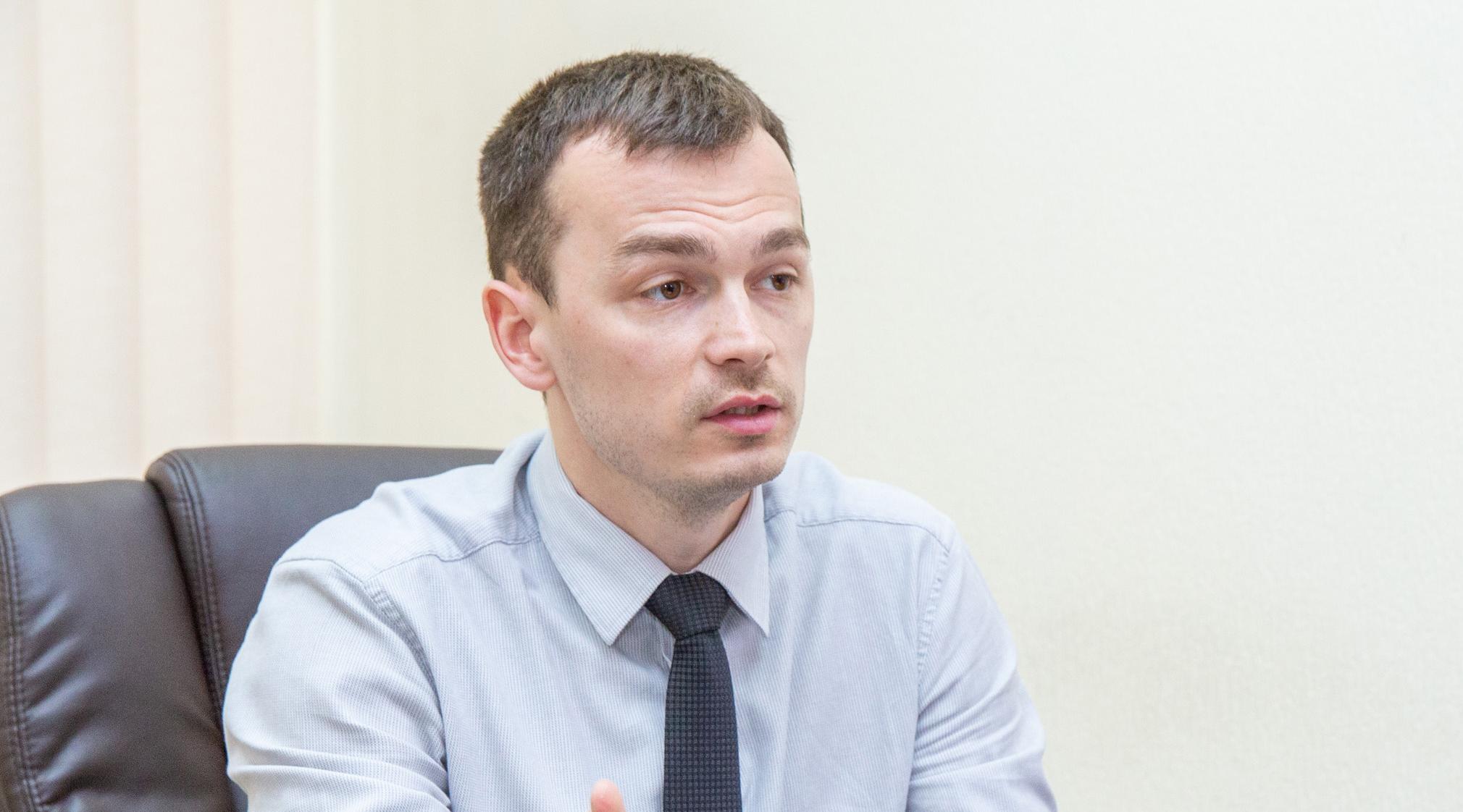 Голова Державної сервісної служби містобудування Олексій Башкіров