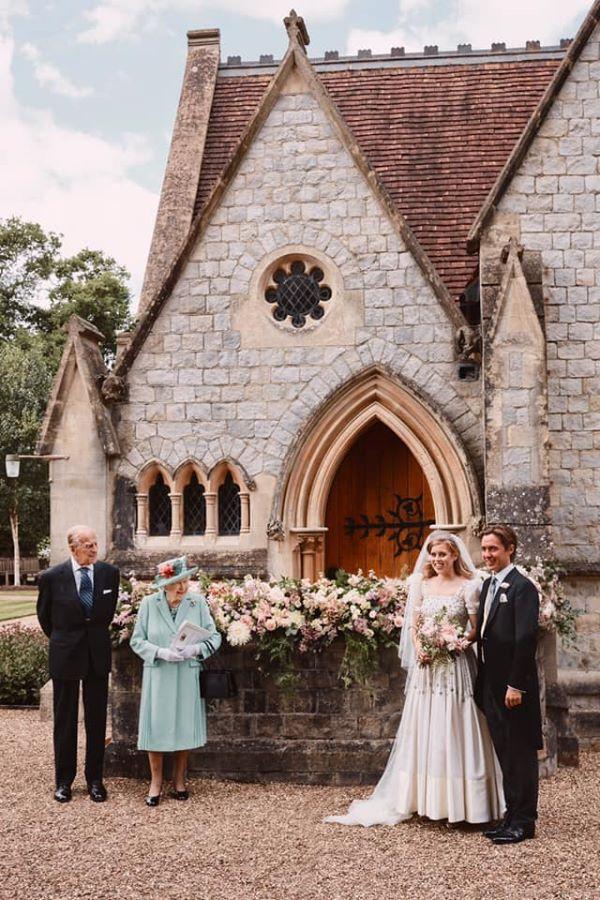 Королівська сім'я показала весілля принцеси Йоркської Беатріс