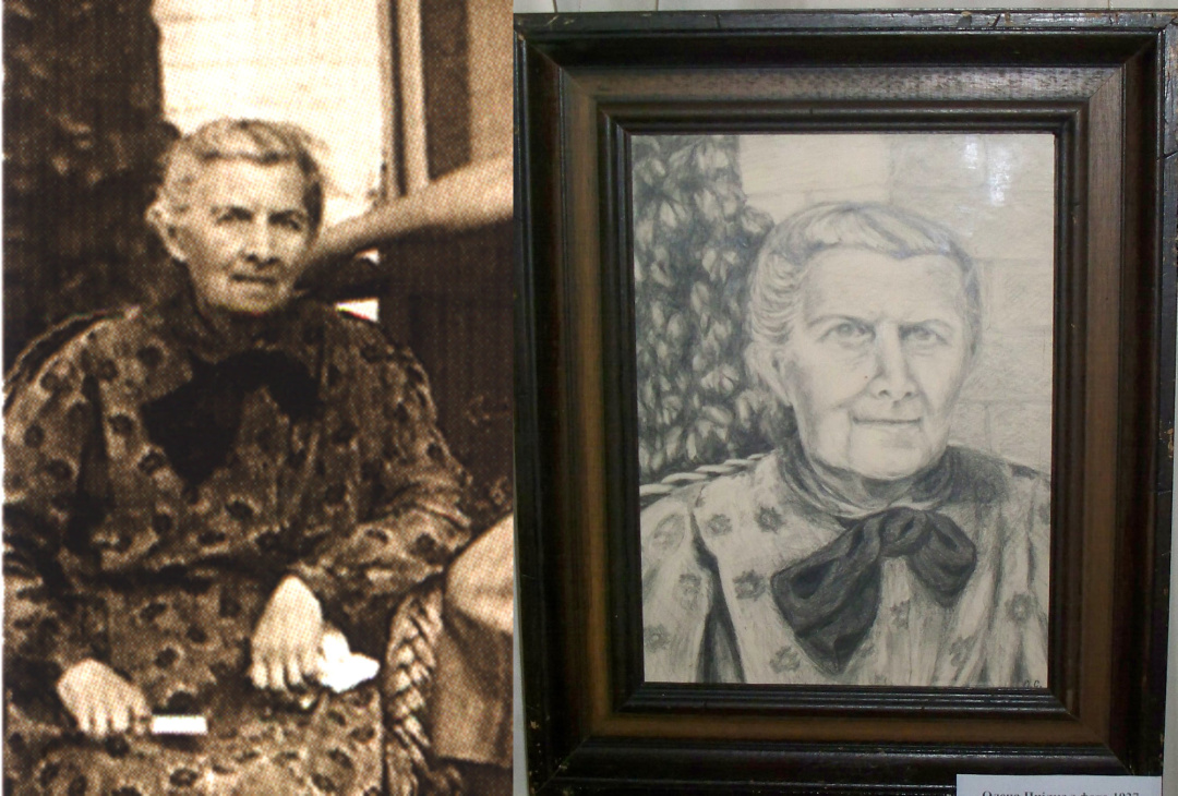 У Новограді-Волинському експонують виставку картин племінниці Лесі Українки