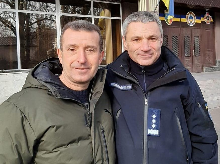 Сергій Шакун з Ігорем Воронченком. Одеса, лютий 2020-го