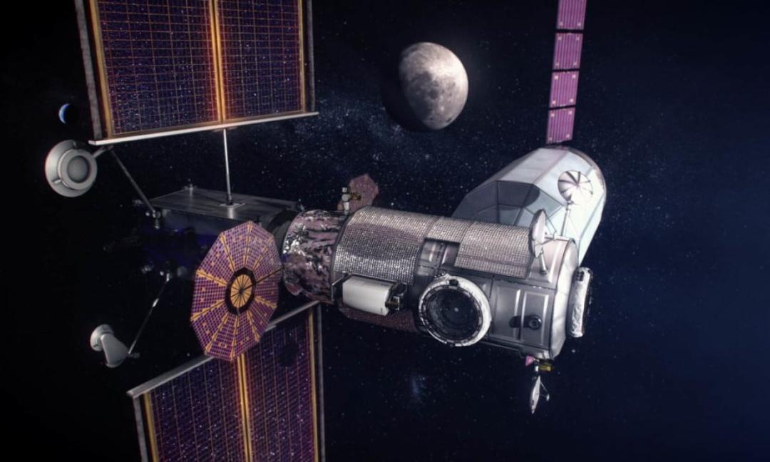 Космічний корабель Gateway / Джерело: NASA