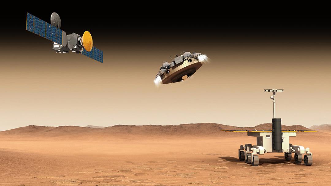 Місія ExoMars / Джерело: Європейське космічне агентство