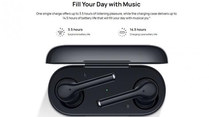Huawei представила бездротові навушники