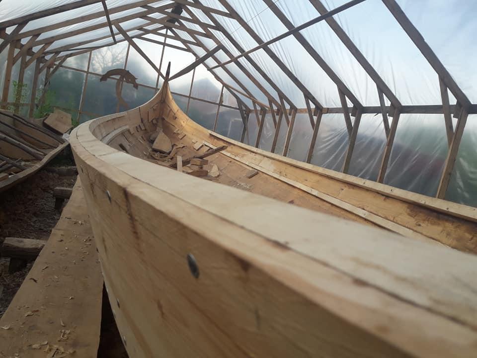 У Галичі планують спустити на Дністер середньовічний човен