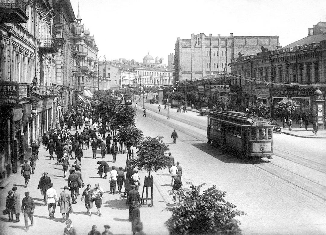Крещатик, 1920-е годы