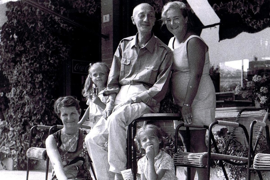 Джорджо Щербаненко с женой и детьми