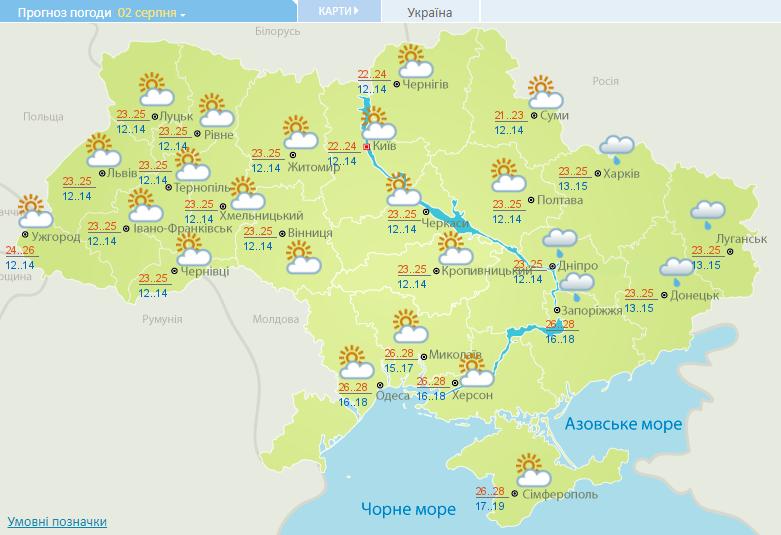 Спекотно, але з дощами: синоптики розповіли про погоду на вихідних
